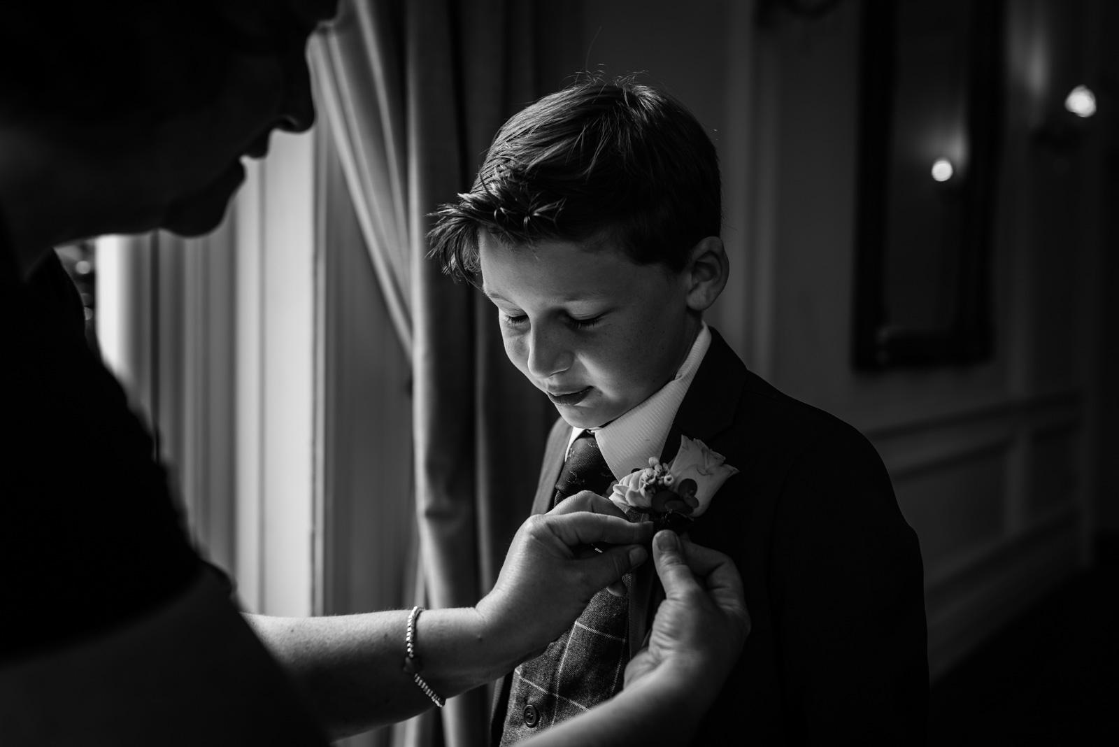 Groomsmen at an Ashfield House Wedding