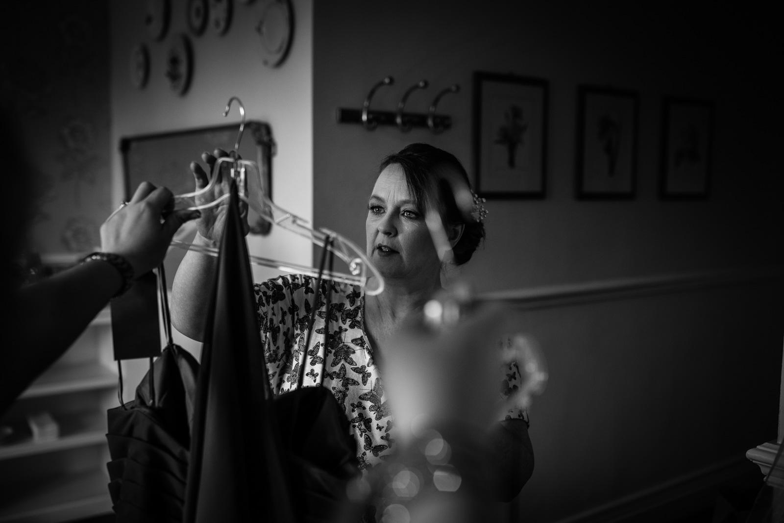 Bridesmaid at an Ashfield House Wedding