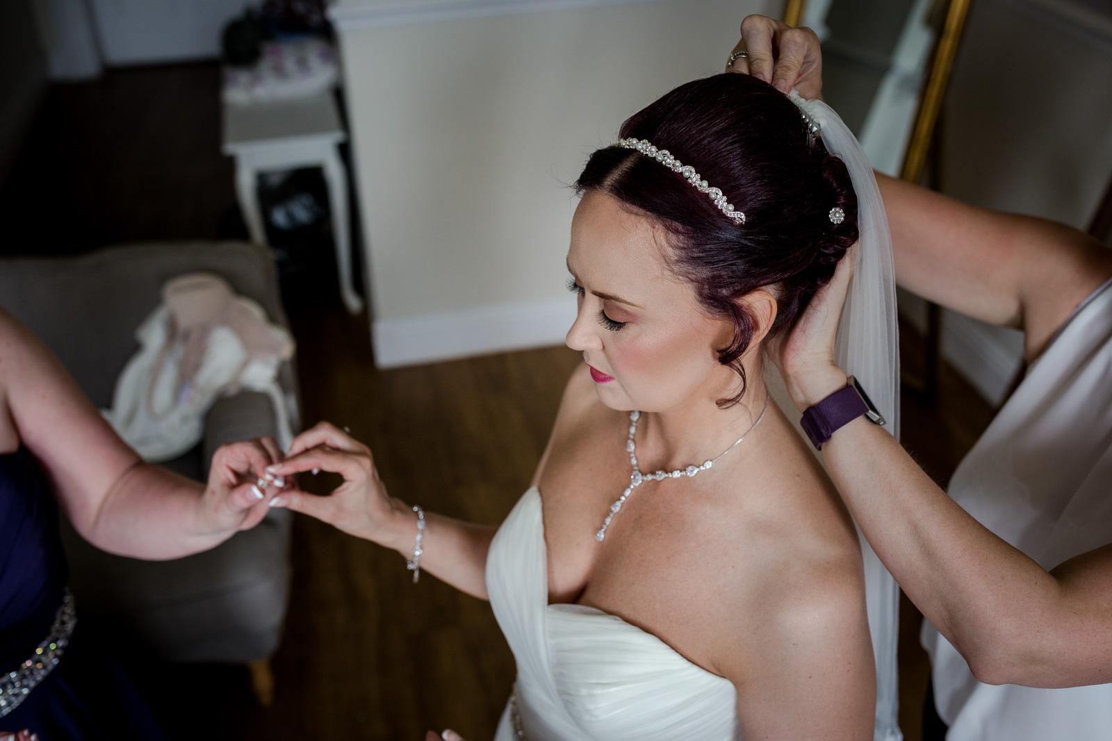 Ashfield House Wedding Bride