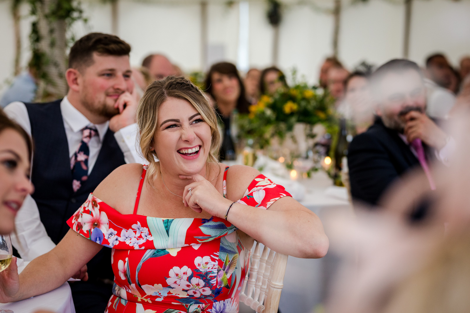 Marquee Wedding in Bedfordshire