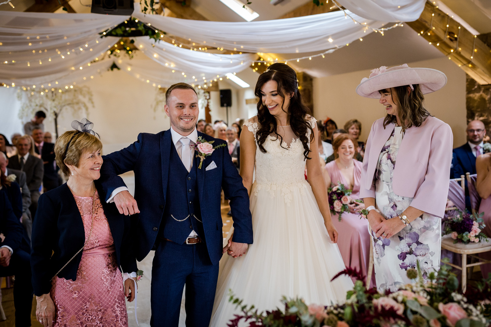 Mother of the groom at Beeston Manor