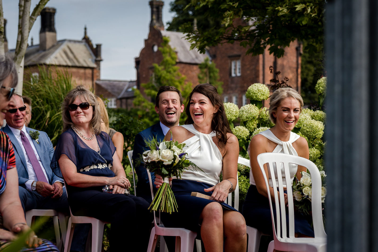 Capesthorne Hall Wedding ceremony in Cheshire