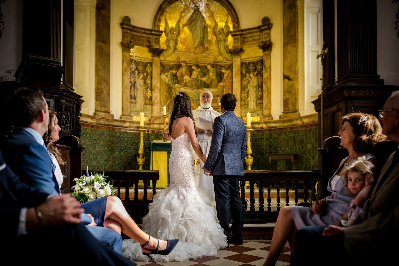 Capesthorne Hall Wedding in the Chapel