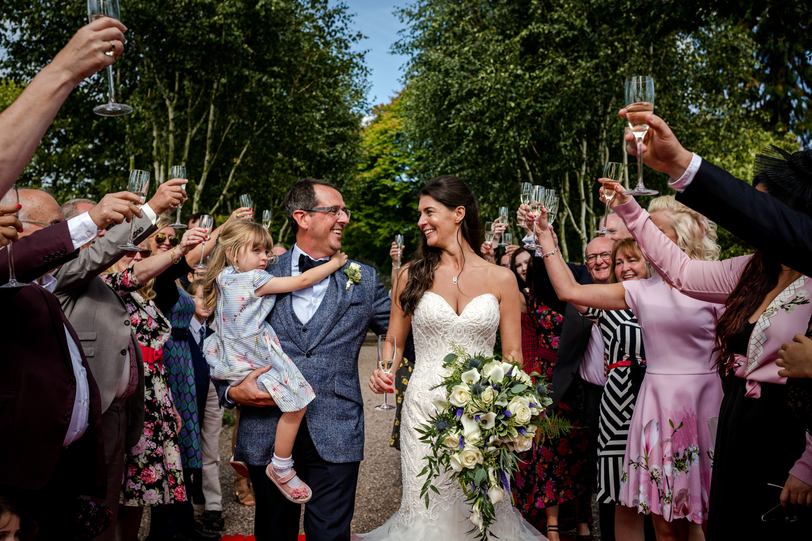 Capesthorne Hall Wedding in Macclesfield