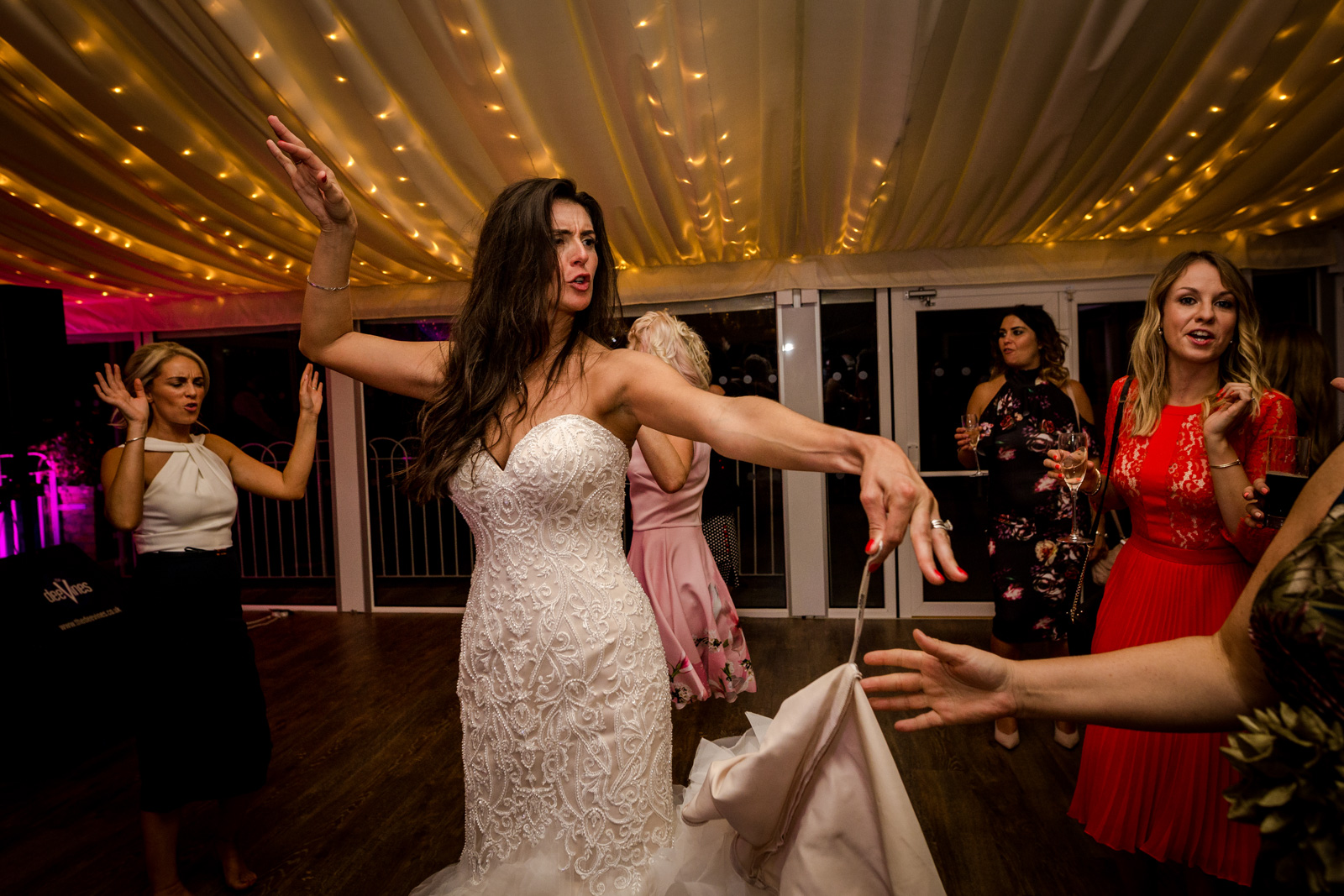 Party at a Capesthorne Hall Wedding Cheshire Bride Magazine