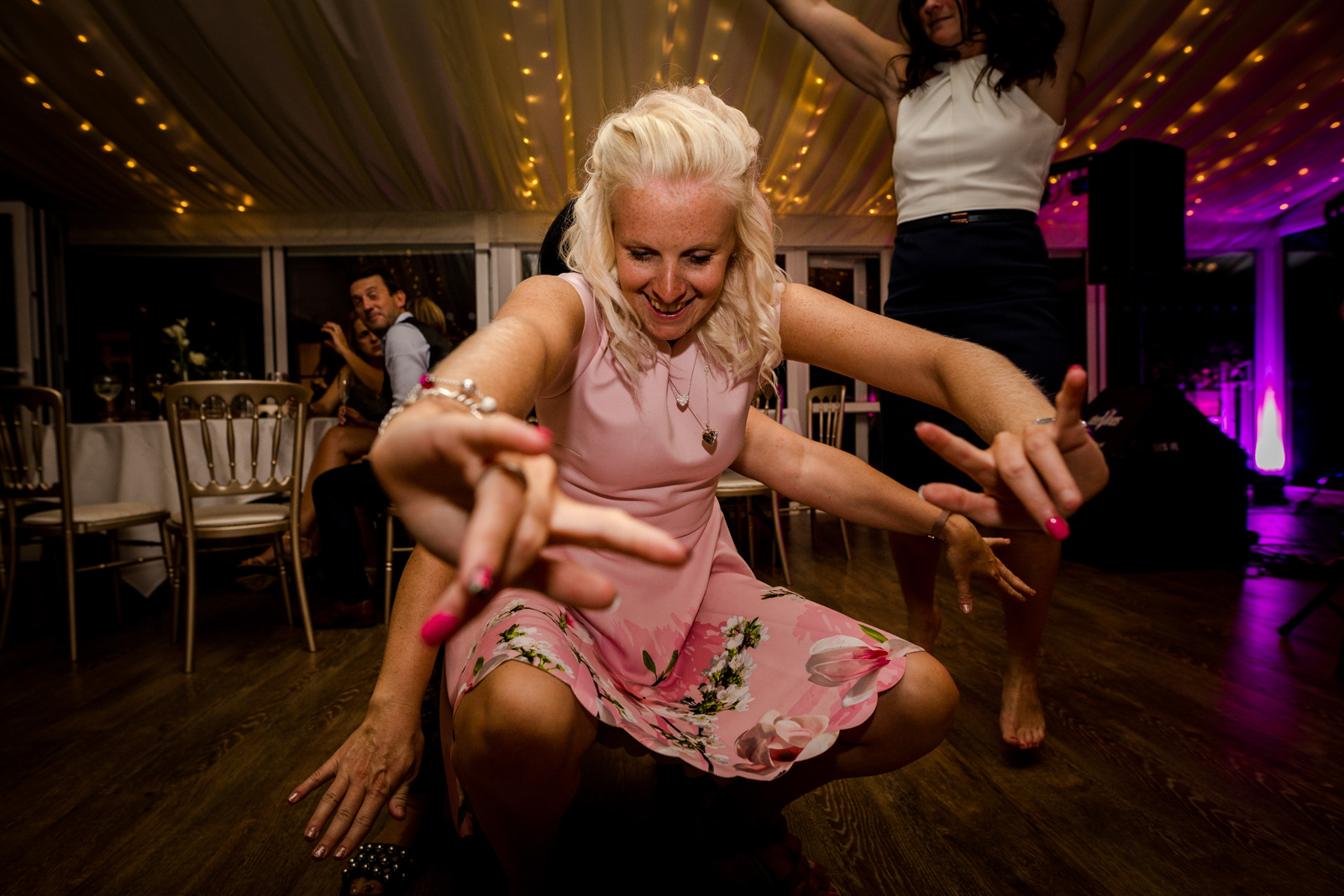 Reception at a Capesthorne Hall Wedding