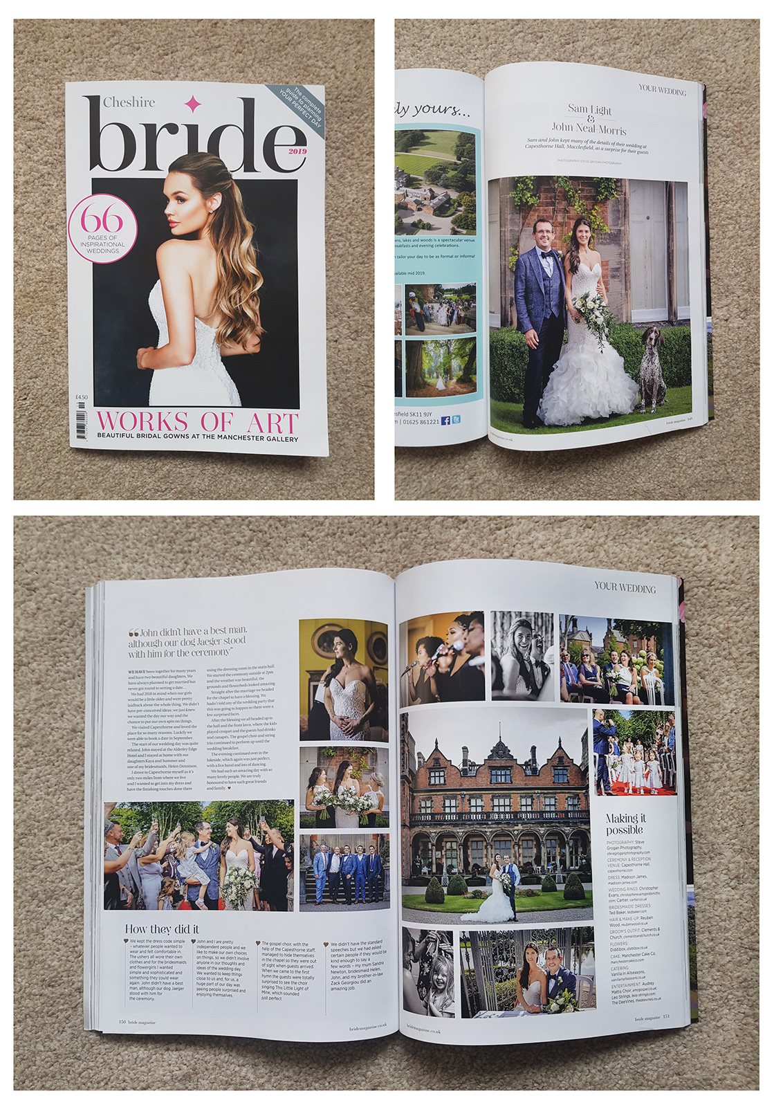 Cheshire Bride Magazine 2019