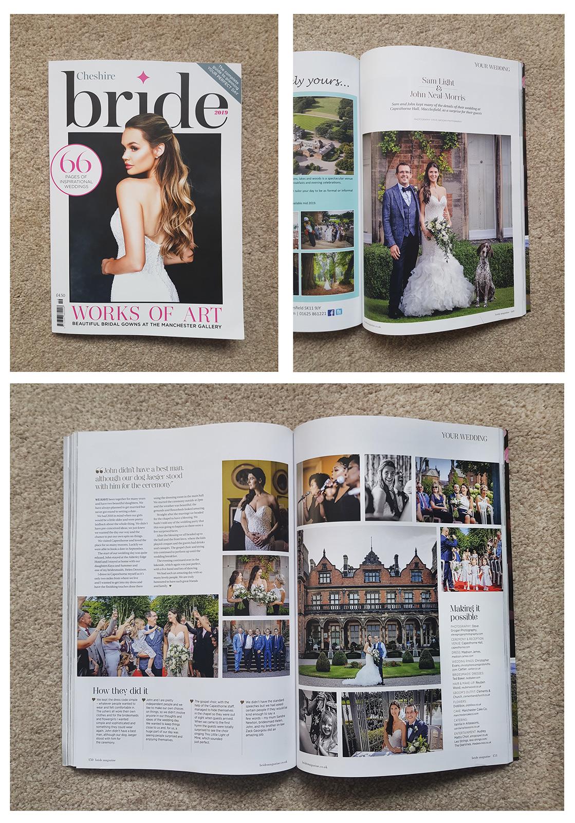 Cheshire Bride Magazine 2019