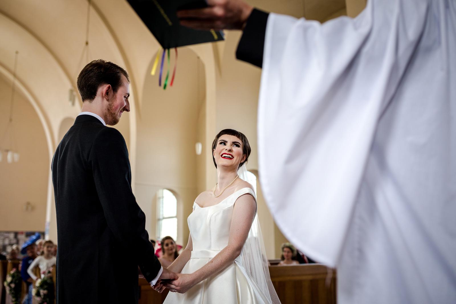 St Mark's with St John's church wedding
