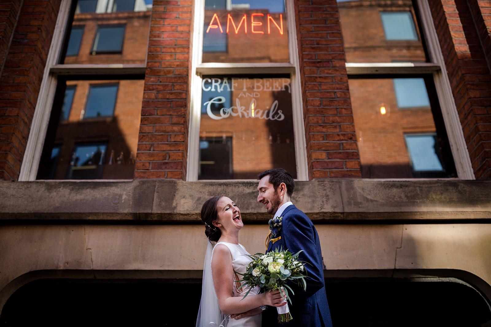 Leaf Manchester Wedding