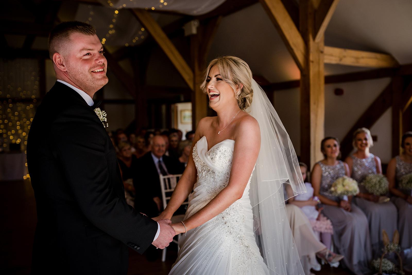 Sandhole Oak Barn Wedding in Congleton