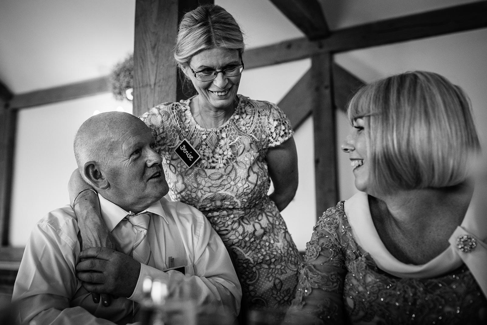 Sandhole Oak Barn Wedding Reception