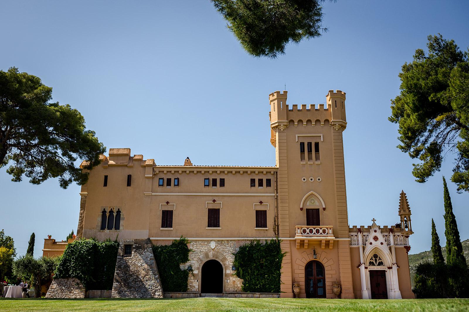 Torre del Veguer Wedding in Sitges