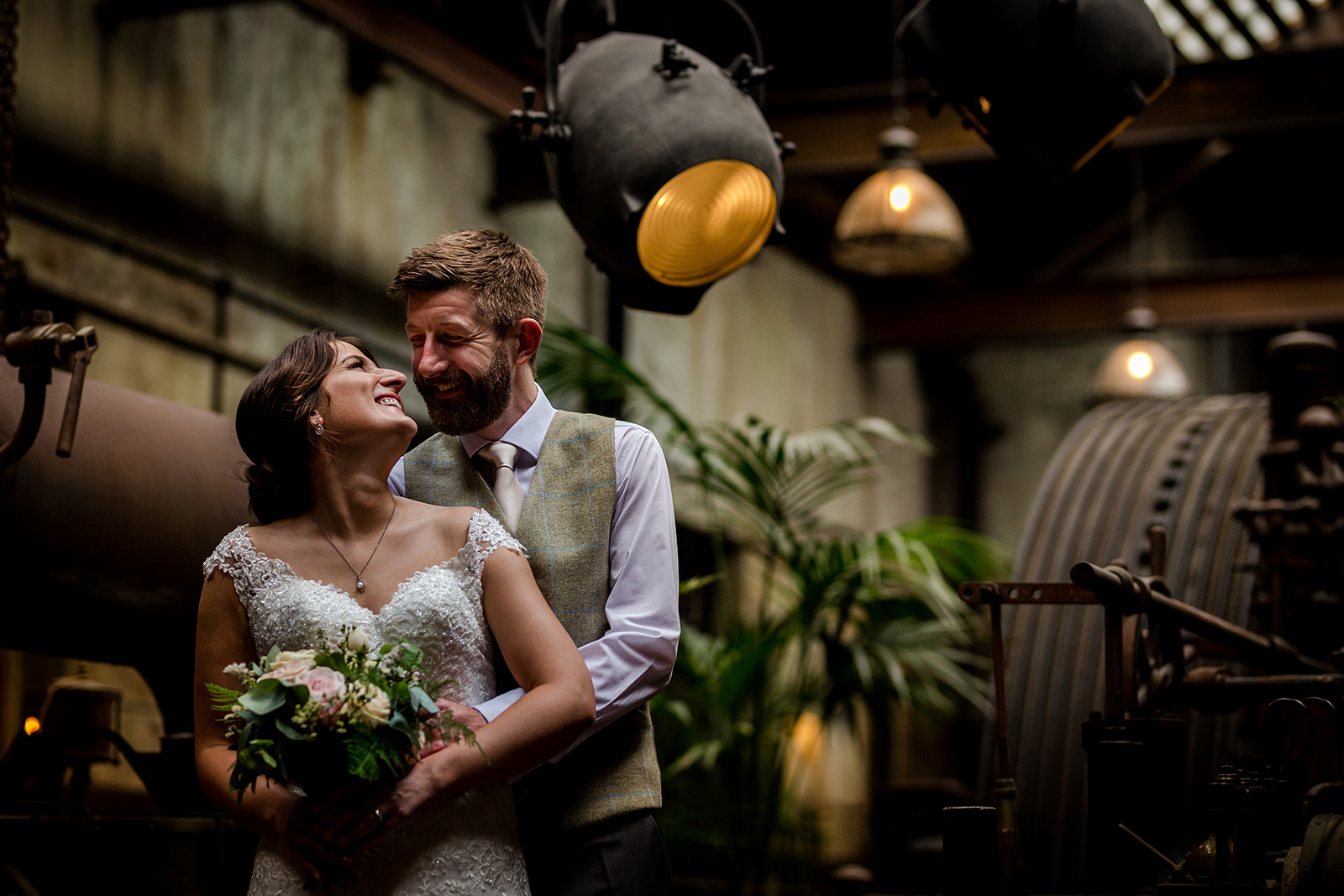 Authentic Smiles & Real Moments at a Fun Family Wedding at Holmes Mill