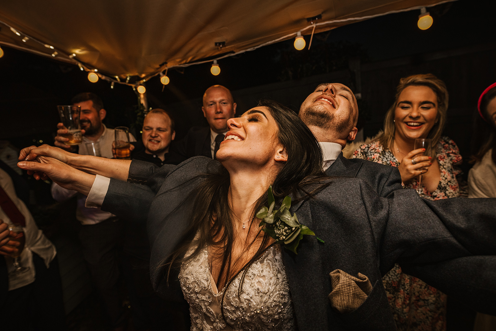 Incredible Manchester Marquee Wedding – Dancing is Back!